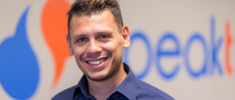 The CEO & Founder of Speakt, who inspired an idea from travelling