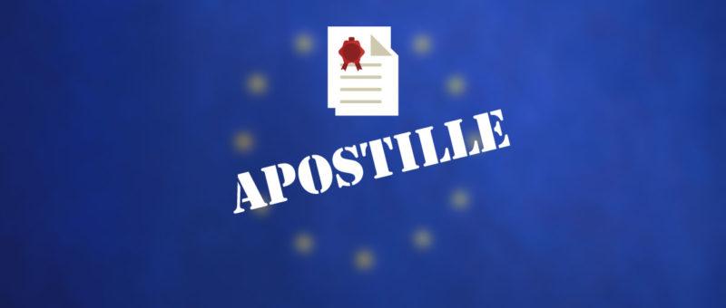 Τι είναι η σφραγίδα της Χάγης APOSTILLE;