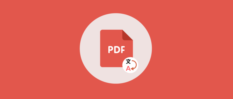 How to translate PDF files to different languages