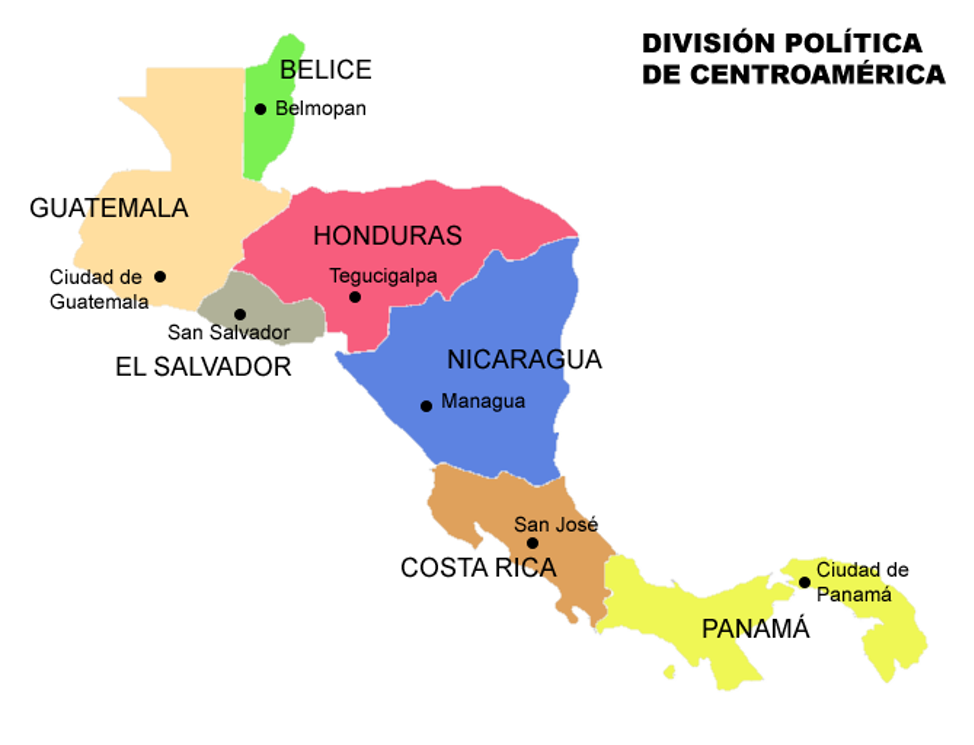 central america spanish dialects countries
