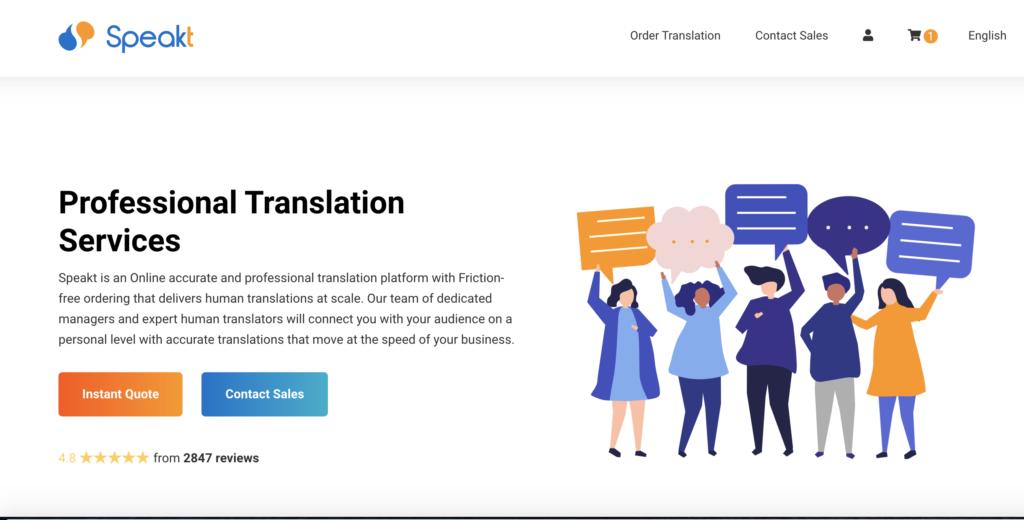 speakt translation services