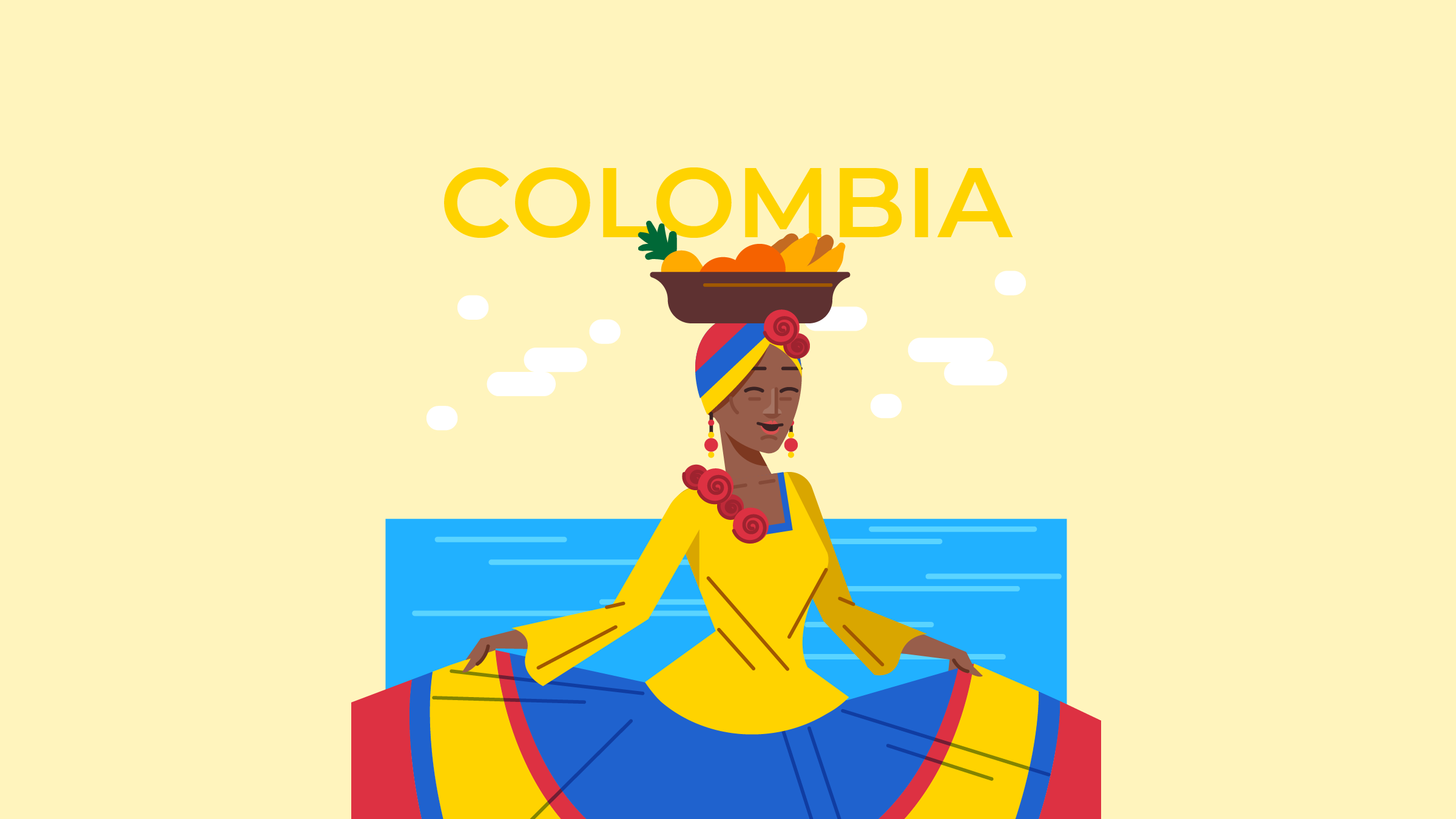 What language do Colombians
